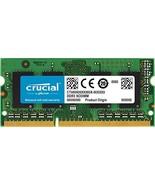 Crucial RAM 8GB DDR3 1600 MHz CL11 Laptop Memory CT102464BF160B - $39.59