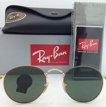 New RAY-BAN Sunglasses RB 3747 001 50-21 145 Arista Gold Frame w/ G15 Green Lens - $169.95