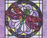 Stain glass dragonfly cross stitch pattern thumb155 crop
