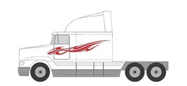 SEMI #S-749 DECAL VINYL FLAMES VAN VEHICLE TRAILER  CROSS OVER SUV TRUCK... - $137.99