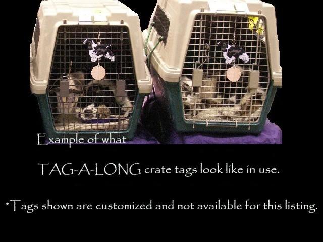 Belgian Malinois crate tag or home decor, hang anywhere, herding dog, handmade