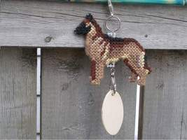 Belgian Malinois crate tag or home decor, hang anywhere, herding dog, ha... - $19.00