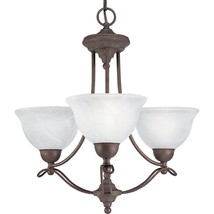 Cobblestone Finish Avalon Collection Cobblestone 3 light Chandelier P4067-33 - $115.14