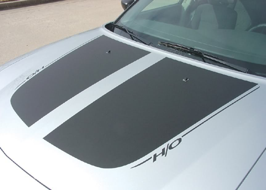 Dodge CHARGER Hood Decals Stripes 3M Graphics NEW*