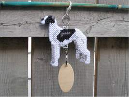 Greyhound crate tag or home decor, hang anywhere, sighthound hound dog, ... - $20.00