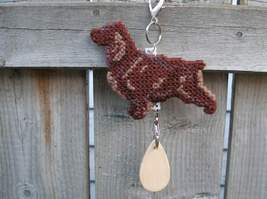 Field Spaniel crate tag or hang anywhere decor, hunting bird gun dog, ha... - $20.00