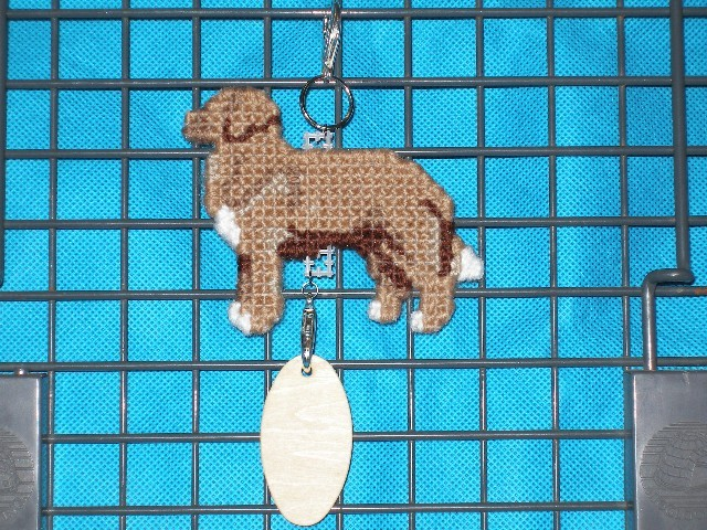 Nova Scotia Duck Tolling Retriever dog crate tag or hang anywhere, NSDTR Toller