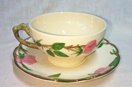 Vintage Franciscan Desert Rose Pattern Cup & Saucer  - $9.95