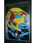 1978 AMAZING SPIDER-MAN 70 MARVEL COMICS POSTER: Romita art/1970's Marve... - $40.00