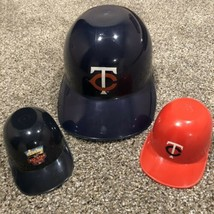 Minnesota Twins Set of 3 Souvenir Plastic Helmets MLB Baseball All-Star Game - $24.95