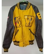 Vintage 1986 Varsity Jacket Windsor High School Missouri Awards Brown Ye... - $39.59