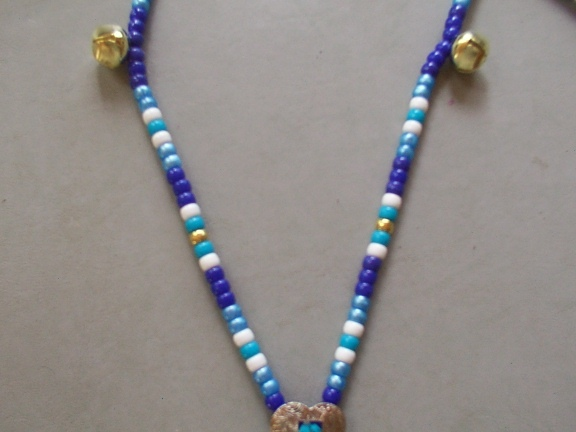 Bjs blue skies healing rhythms bead closeup