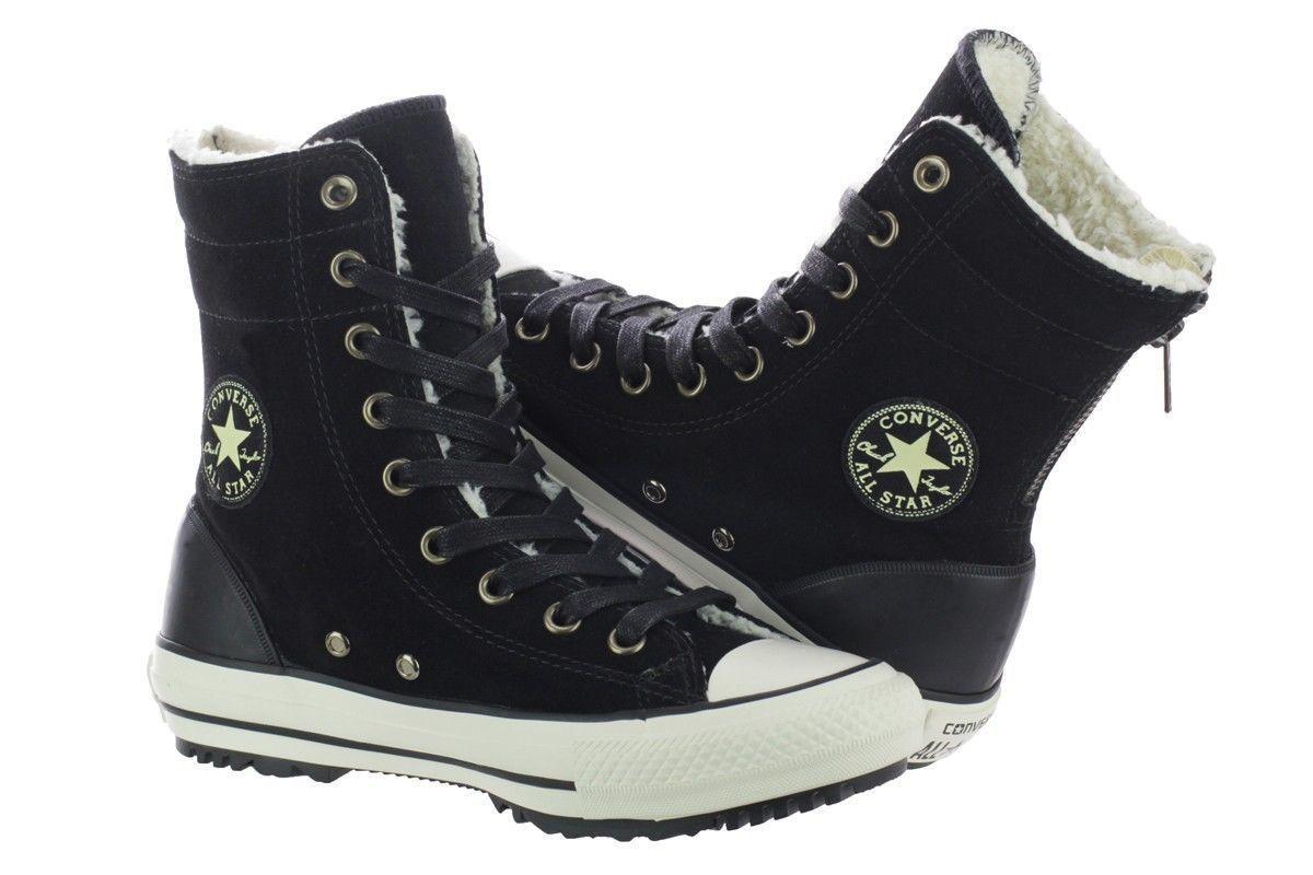 NIB*Converse Chuck Taylor All Star GR82 Platform Boots *Black Silver *5.5 11 | eBay
