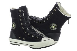 Converse Chuck Taylor High-Rise Boot Women 549593C Black Shoes Sizes 5 -... - $59.99