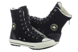 Converse Chuck Taylor High-Rise Boot Women 549593C Black Shoes Sizes 5 - 6.5 - 7 - $59.99