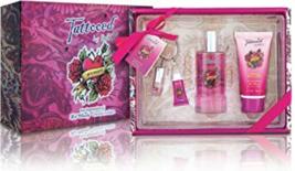 Tattoed by Inky Woman Gift Set Perfume, Body Lotion Lip GLoss  - $19.99