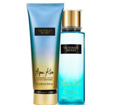 Victoria's Secret Aqua Kiss Fragrance Lotion + Fragrance Mist Duo Set  - $39.95