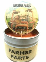 Farmer Farts (Fruity Type Aroma)- 4oz All Natural Soy Candle Tin - Appro... - $8.89