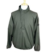 DryJoys by FootJoy Men's Golf Wind Rain Pullover Jacket Brown Black Chec... - $36.62