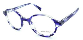 Alain Mikli Rx Eyeglasses Frames A03064 002 47-20-140 Paint Blue Made in Italy - $103.41