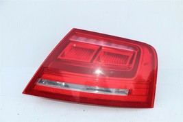 11-14 Audi A8 S8 Quarter Mnted Outer LED Taillight Combo Lamp Passenger Right RH image 1