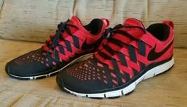 Nike Free Trainer 5.0 Black/Red size 10.5 men's 579809-601 Finger Trap W... - $48.45