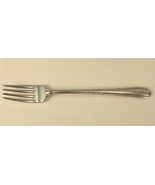 Alvin Silver Co Grille Fork Viande in the Melody 1930 Pattern - $7.00