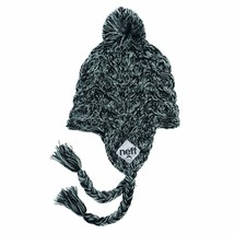 Neff Womens Black Ashes Beanie Knit Cap