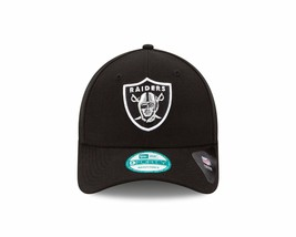 Oakland LA Raiders New Era 9Forty Vintage Black The League Strap Back Hat NFL  - $24.74