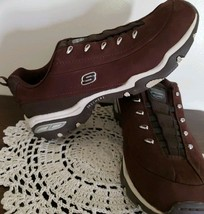 Skechers Sport Brand ~ Premiere ~ Brown Slip On Sneakers ~ Women's Size 7.5 - $30.00