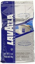 Lavazza Gran Filtro Ground Coffee Blend, Medium Roast, 2.25-Ounce Bags Pack of 3