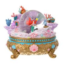 D23 Expo Japan Disney Store Alan Menken Ariel Snow Glove Music Box Dome ... - $286.11