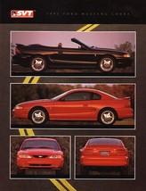 1995 Ford SVT MUSTANG COBRA sales brochure sheet US 95 - $10.00