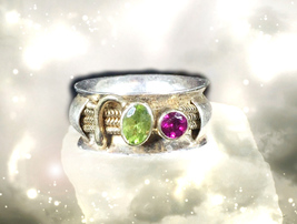 HAUNTED RING ALEXANDRIA'S RISE TO BECOME THE SORCERER HIGHEST LIGHT OOAK... - $4,403.11