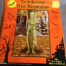 Halloween Tie a Skeleton To a Tree Decoration  - $3.99