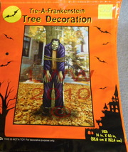 Halloween Tie a Frankenstein to a tree Decoration Monster - $3.99