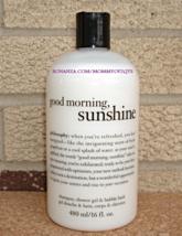 Philosophy Good Morning Sunshine 3 in 1 Shampoo Shower Gel Bubble Bath Sealed - $20.00