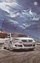 2008 Volkswagen PASSAT brochure catalog US 08 VW Lux VR6 - $9.00