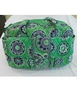 Vera Bradley Cupcakes Green Large Diaper Bag - $34.42