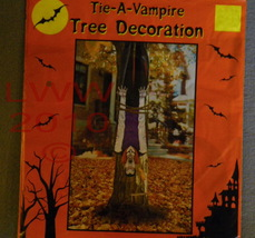 Tie a Vampire Count to a Tree Halloween Decoration - $3.99