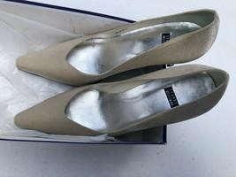 Women's Ivory-Colored Cloth Stuart Weitzman Glitter Shoes - Size 8.5 - $110.00