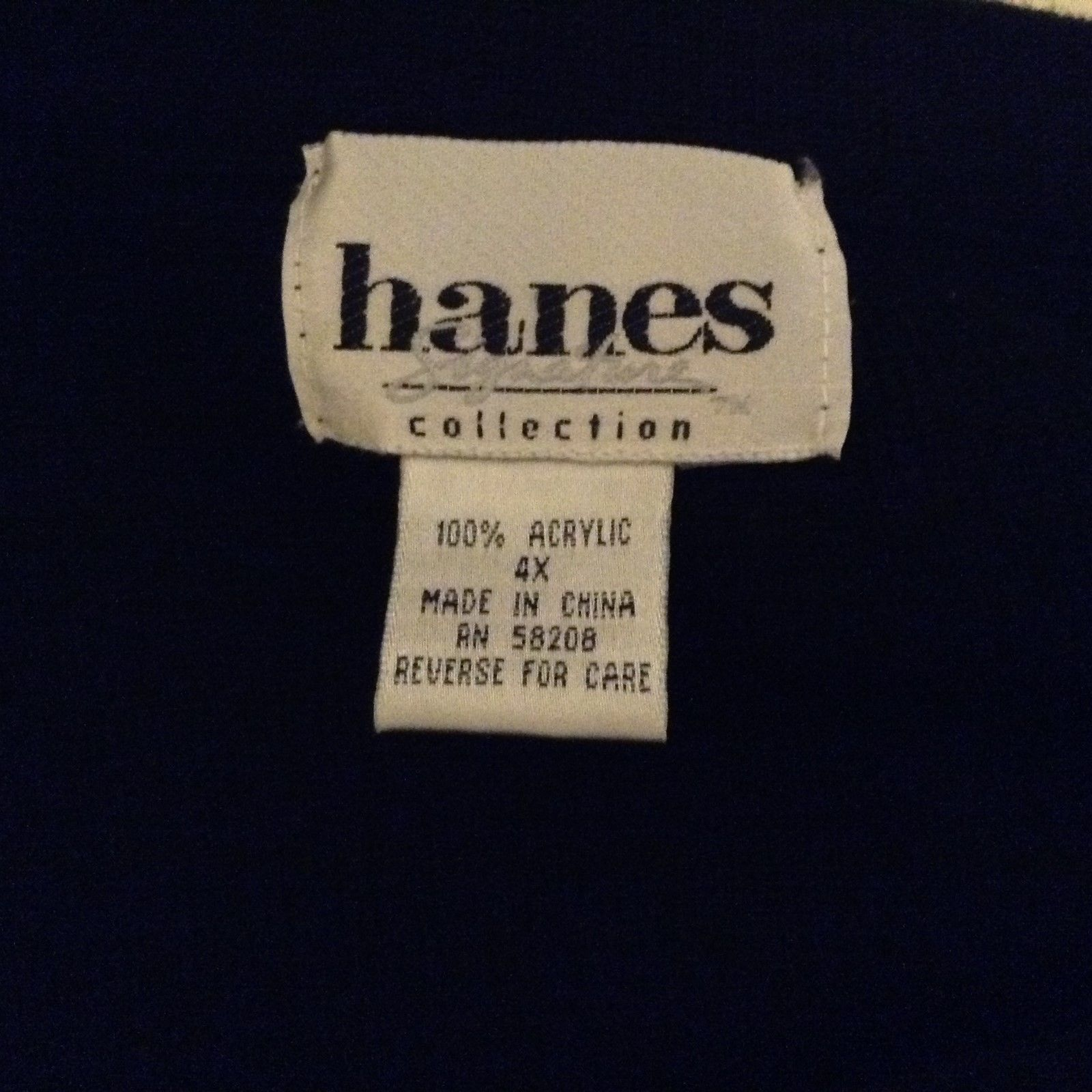 Hanes Signature Collection Black Stretchy Skirt Sz 4X