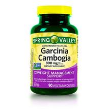 Spring Valley Garcinia Cambogia Capsules, 800 Mg, 90 Count - $25.02