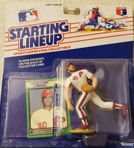 1988 Starting Lineup Basebal Steve Bedrosian Philadelphia Phillies Figur... - $5.87