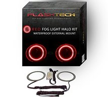 FLASHTECH for Toyota Sequoia 08-11 Red External Mount Waterproof LED Hal... - $97.02