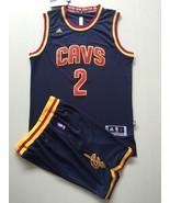 Men's Cleveland Cavaliers #2 Kyrie Irving basketball jersey suit Blue.jpg - $45.99