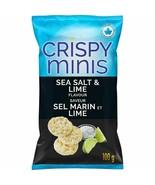2x Quaker Crispy Minis Sea Salt & Lime 100g/3.52oz EACH Canada ALWAYS FR... - $15.79