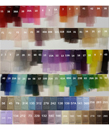 Tulle TUTU Color chart Color Swatches Women Tulle Skirt Wedding Tulle Ou... - $0.50+
