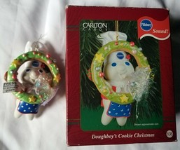 2001 Carlton Cards Doughboy's Cookie Christmas Ornament with Sound - $14.25