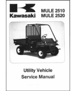 1993-2000 Kawasaki MULE 2510 / 2520 UTV Service Repair Workshop Manual C... - $12.00